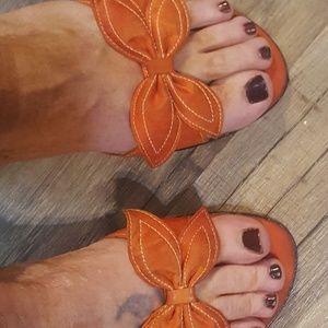 Orange George Sandles
